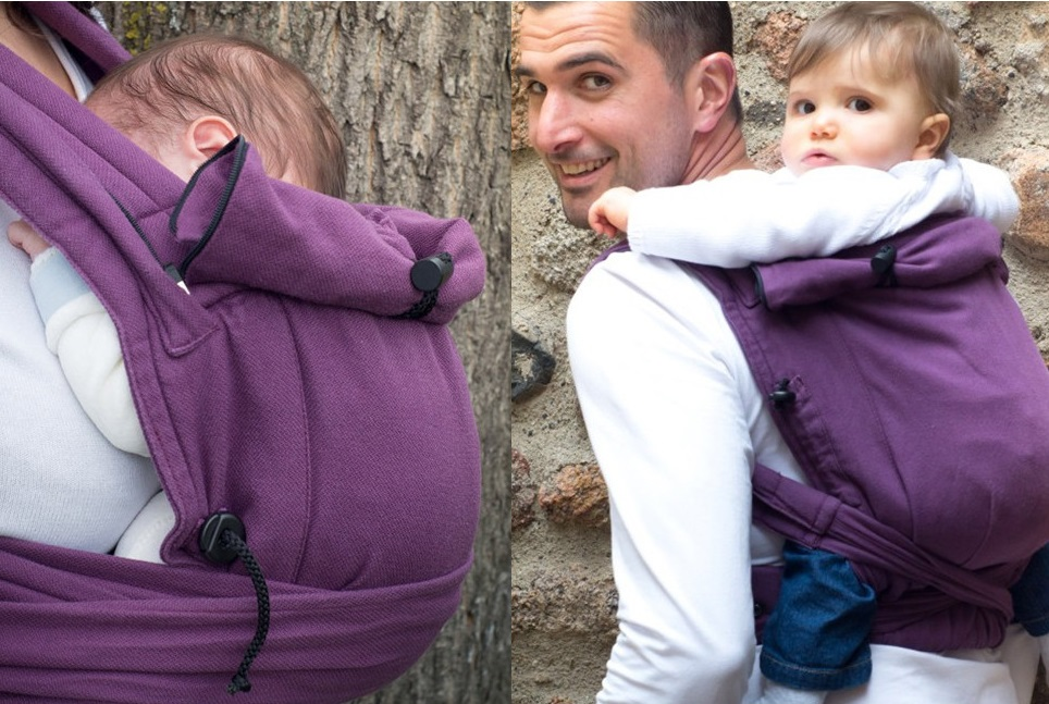 Newborn to toddler carrier